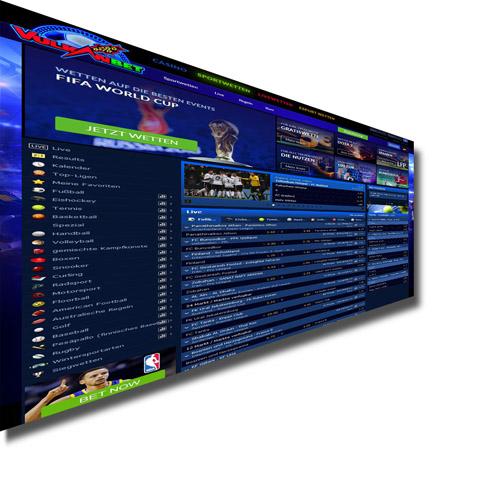 Vulkanbet Sportwetten online